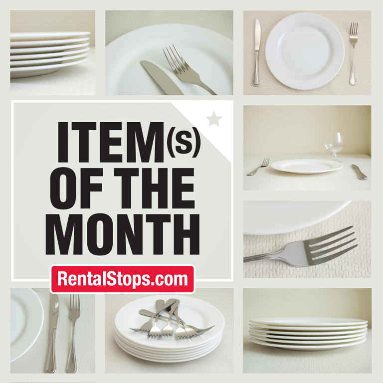 Item(s) Of The Month : Tableware