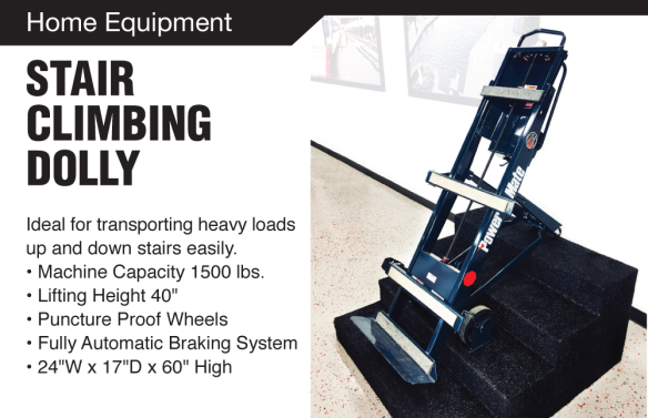 Item of the Month : Stair Climbing Dolly | Blog for Rental Stop