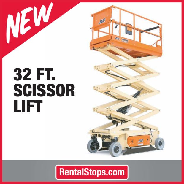 32' Scissor Lift